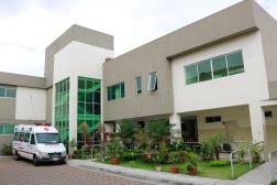 In dit zorghuis worden gehandicapten, ouderen en zieken opgevangen.