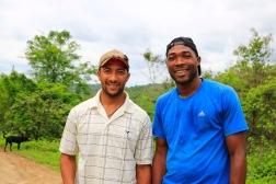 Diego en Danny werken op de Haciënda en verblijven in Casa Ria.