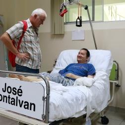 José Montalvan kwam drie jaar geleden in het Zorghuis terecht na een zware val.